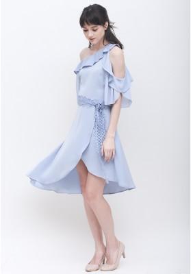 Liv Flowly Dress Blue