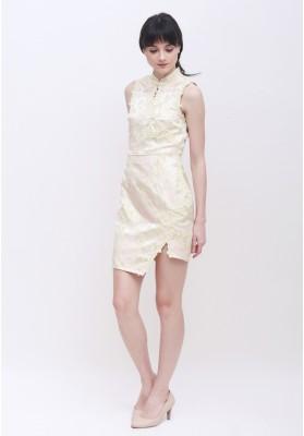 Patricia Cheongsam Dress Green