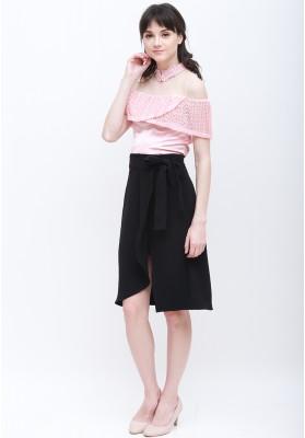 Vana Cheongsam Top Pink