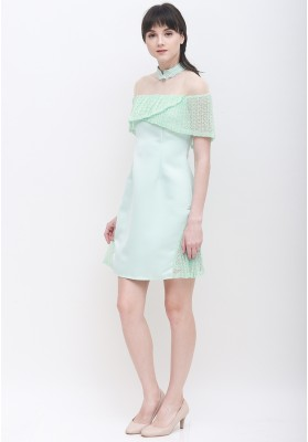 Vana Cheongsam Dress Green
