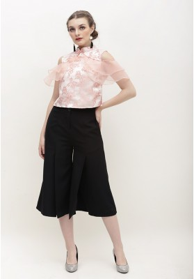 Alice Cheongsam Top Pink