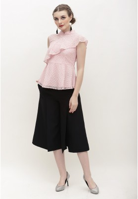 Camille Cheongsam Top Pink
