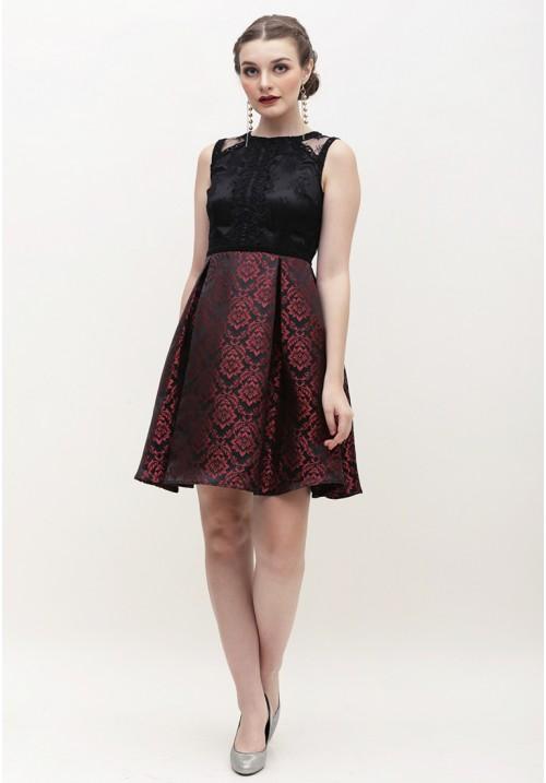 Cerelia Dress Red