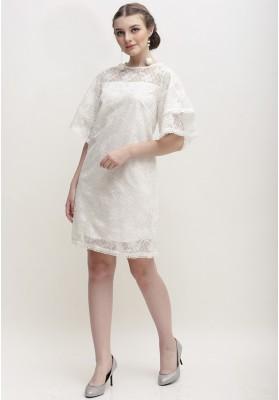 Elena Dress White