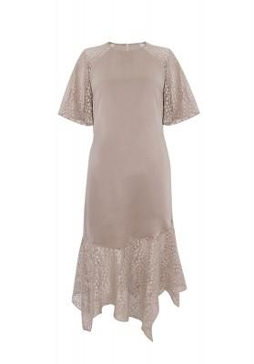 Eloise Dress Beige