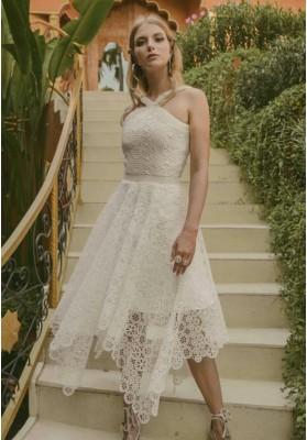 Heyna Lace Dress White (Pre-Order)