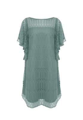 Kezia Lace Dress Green