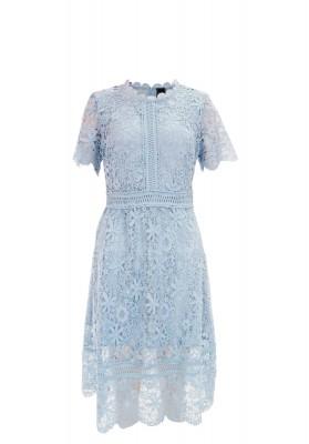 Laurette Lace Dress Blue