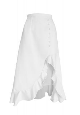 Eleanor Skirt White