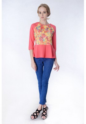 Rhea Lace Top Pink