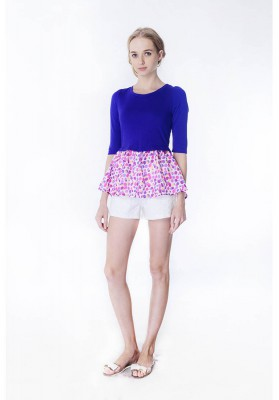 POLLY TOP PURPLE