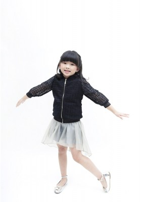 Kimberly Lace Jacket Black
