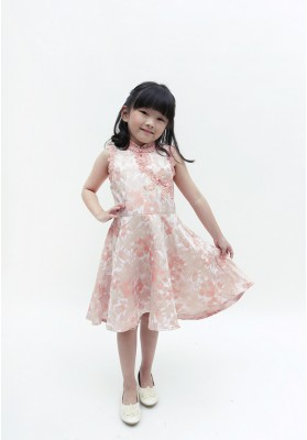 Little Patricia Cheongsam Dress Pink