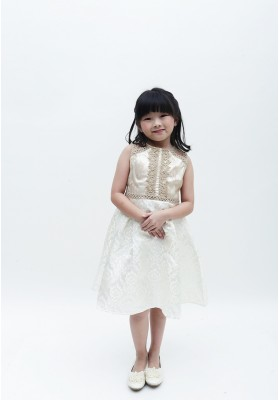 Cerelia Dress Gold