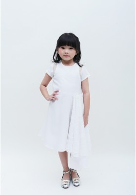 Tasya Lace Dress White