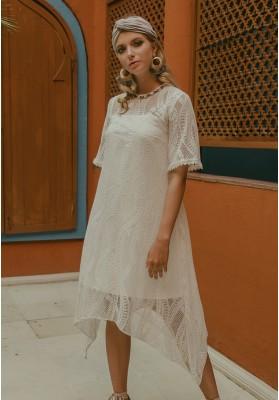 Kenza Lace Dress White (Pre-Order)